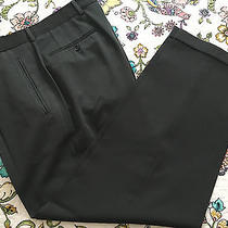 Boss Hugo Boss Men's 100% Wool Dress Pants Size 34/31 Photo