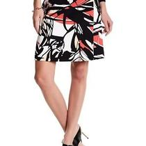 Boss New Black White Womens Size 10 Printed Viphima Straight Skirt 295- 898 Photo