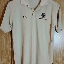 Boston College Under Armour Polo Small Beige Photo