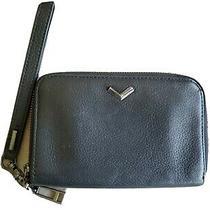 Botkier Black Leather Wristlet Wallet Photo