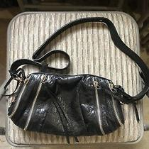 Botkier Black Zipper Purse Bag Photo