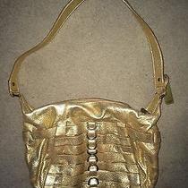 Botkier Gold Handbag Purse Photo