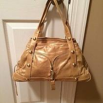 Botkier Gold Leather Bag Photo