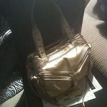 Botkier Gold Leather Tote Photo