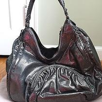 Botkier Graphite Metallic Hobo Handbag Photo