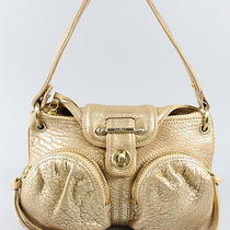 Botkier Metallic Gold Leather Handbag Photo