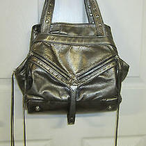 Botkier Metallic Gold Leather Purse Photo