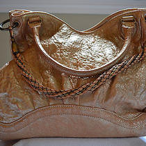Botkier Metallic Leather Handbag  Photo