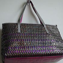 Botkier Metallic Leather Tote Photo