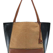 Botkier New York Soho Tote in Camel Multi - Bnwt - New Stock Photo