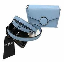 Botkier Nolita Mini Han Cross Body Belt Bag Blue Photo