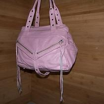 Botkier Pink Leather Hobo Handbag Tote Bag Purse Shoulder Bag Photo
