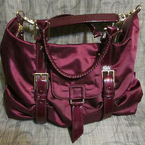 Botkier Sasha Red Wine Satchel Purse-Excellent Lightly Used Photo