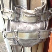 Botkier Silver Metallic Mesh Bag Photo