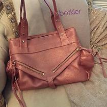 Botkier Trigger Bag in Metallic Rose Photo