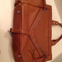 Botkier Trigger Satchel Tan Cognac Leather Photo