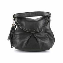 Botkier Women Black Leather Shoulder Bag One Size Photo
