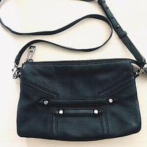 Botkier Women's Black Pebble Leather Messenger Crossbag Excellent Condition Photo