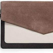 Botkier Women's Cobble Hill Flap Clutch Winter Grey Combo Photo