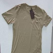 Bottega Veneta Beige Men's T-Shirt Beige 48 S New Photo