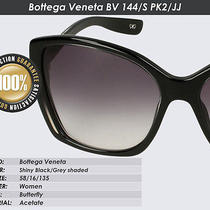 Bottega Veneta Bv 144/s Pk2 Jj (Black/grey Shaded New Original Sunglasses) Photo