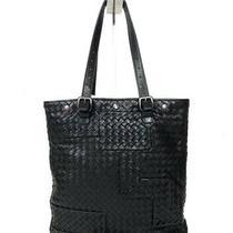 Bottega Veneta Intrecciato Tote Bag Handbags Shopping Leather Black Photo