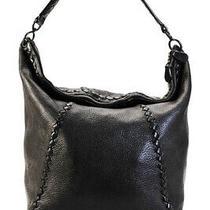 Bottega Veneta Leather Large Hobo Handbag Brown Photo