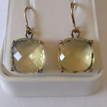 Bottega Veneta Yellow Stone Earrings Photo
