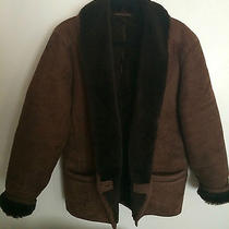 Botticelli Shawl Luxurious Lamb Shearling Jacket Coat Photo