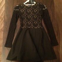 Boulee Avery Long Sleeve Lace Open Back Dress Photo