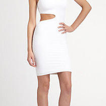 Boulee Clara One-Shoulder Cutout White Dress Size 2 Photo