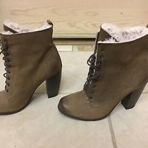 Boutique 9 Nine West Fur Shearling Booties 8.5 Photo