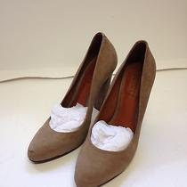 Boutique 9 Schutz Leather Sole Made in Brazil Brown High Heels Photo