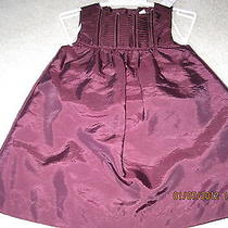 Boutique Dkny  Wine Colored Dress Nwt 18mo. Photo