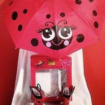 Boutique Kids Rain Boots and Umbrella Set Western Chief Size 9/10 Childrens Photo
