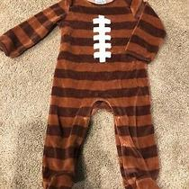 Boutique-Mud Pie Baby-Ls Football 1-Pc. 6-9m Photo