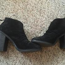 Boutique9 Suede Booties size5.5 Photo
