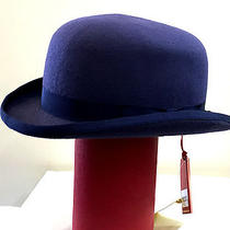 Bowler Hat Christy's of London Large Blue Photo