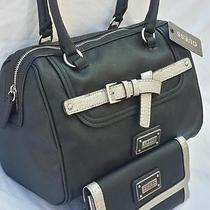 Box Style Guess Handbag Black Belt And/or Wallet Buy as Set or Piece Woman Gift  Photo