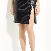 Boy by Band of Outsiders Black Patent Leather Skirt  Photo
