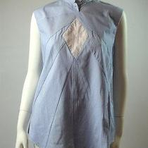 Boy. by Band of Outsiders Blue/white Pinstripe Sleeveless Blouse Sz 3 / M Photo
