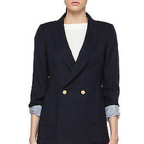 Boy. by Band of Outsiders Double Breasted Blazer in Navy Photo