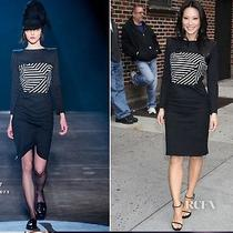 Boy by Band of Outsiders Lucy Liu Striped Boatneck Dress Size 2 Photo
