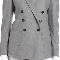 Boy by Band of Outsiders Peak Lapel Grey Jacket Blazer Sz 2 Us 4 Photo