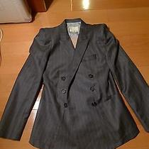 Boy by Band of Outsiders Peaked Shoulder Lapel Double Breasted Jacket 1245 Photo