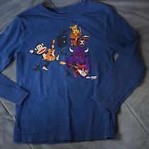 Boy Clothes Size 5 Shirt Top Paul Frank Monkey Band Photo