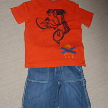 Boy Gap t(xs 4-5) and Gymboree Short (5) Photo