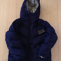 Boy or Girl Burton Black Ski Snow Board Snow Down Coat Hooded Xs 4t 5t 6 7  Photo