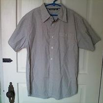Boy's Button Down Stripped Short Sleeve Shirt Size S by Element Photo