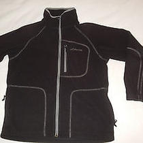 Boy's Columbia Full Zip Fleece Jacket Coat - Black - Size 14/16 - Item 60 Photo